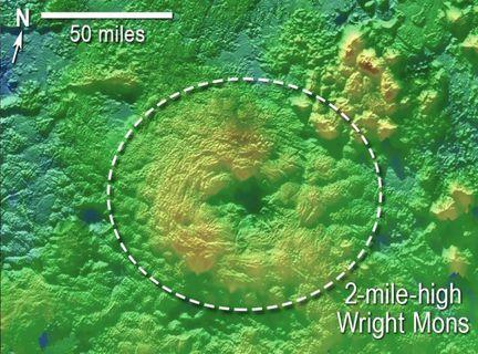 Pluton cryovolcan