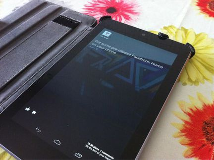 Facebook Home Nexus 7