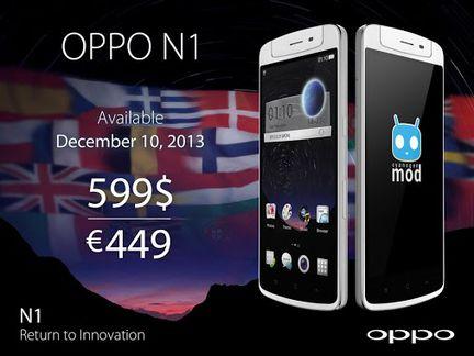 Oppo N1 Europe