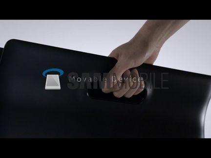 Samsung Galaxy View poignee