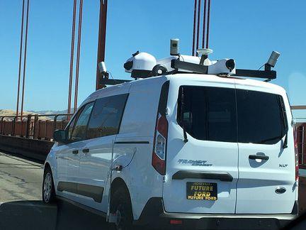 Apple minivan autonome