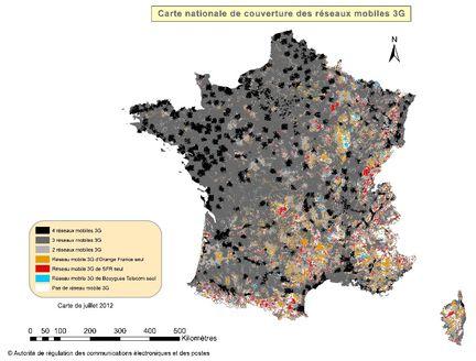 Couverture 3G France