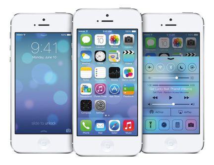 Apple iOS 7 iphone
