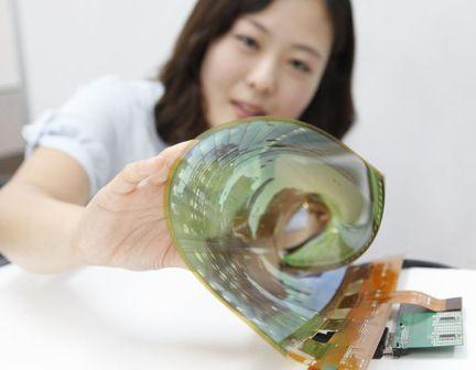 LG écran OLED souple