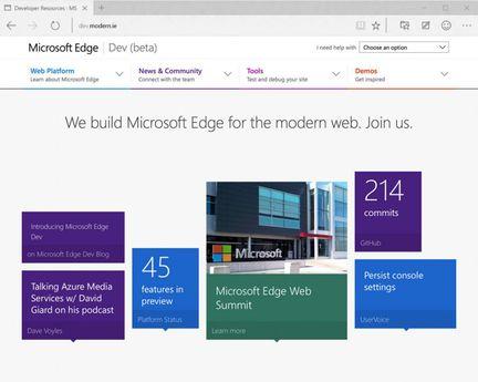 Microsoft-Edge-site-pour-developpeurs