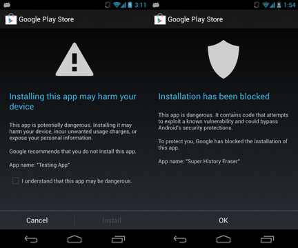 Android jelly bean securite