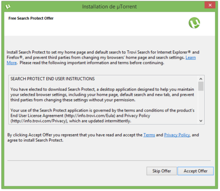 µTorrent-demande-installation-offre