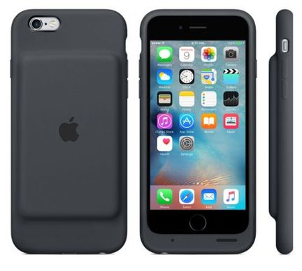apple l 39 iphone 6s se retrouve avec 25 heures d 39 autonomie gr ce au smart battery case. Black Bedroom Furniture Sets. Home Design Ideas