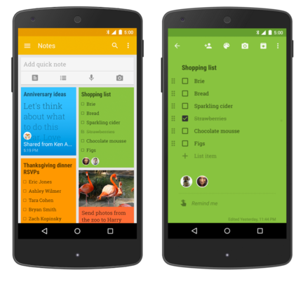 Google-Keep-collaboration