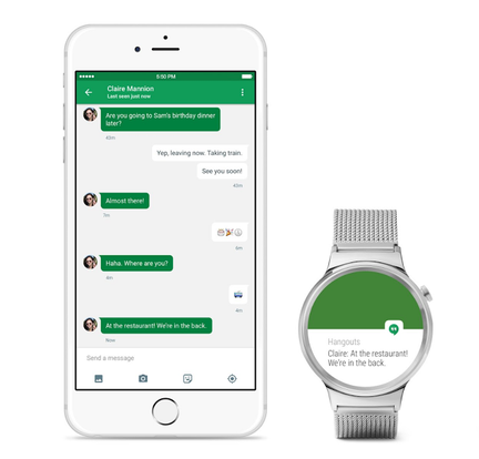 Android Wear iOS application