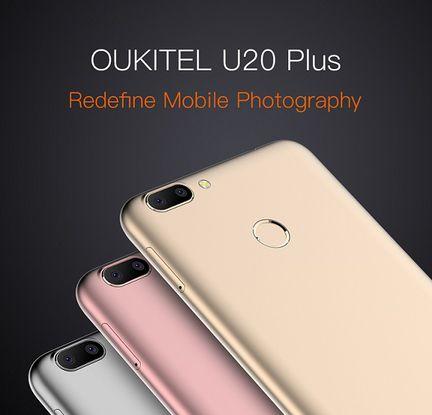 Oukitel U20 Plus coloris