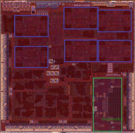 Apple 9X Chipworks