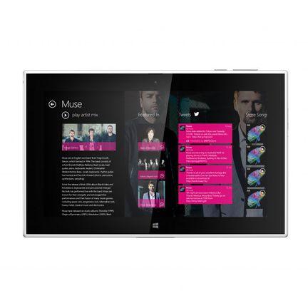 Nokia Lumia 2520 musique