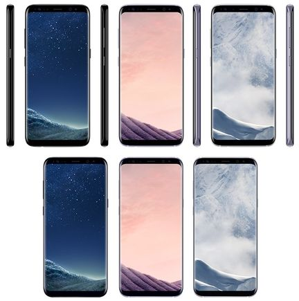 Galaxy S8 coloris