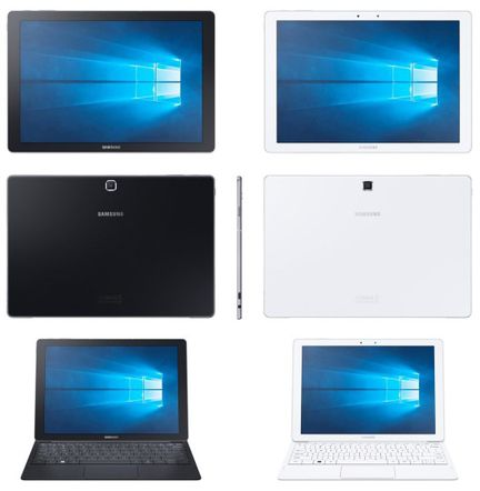 Samsung Galaxy TabPro S windows 10