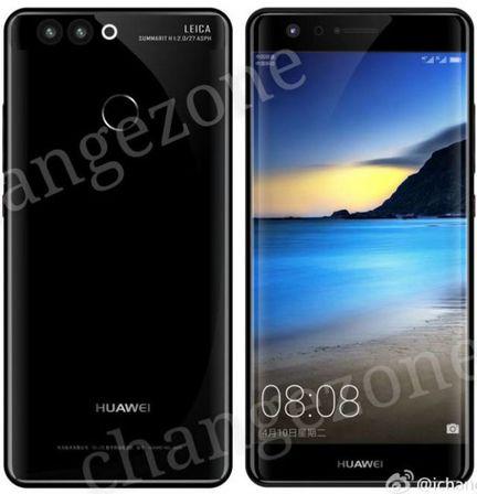 Huawei P10 rendu
