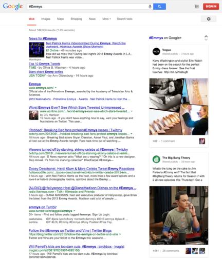 Google-Search-hashtag