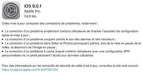iOS 9 maj