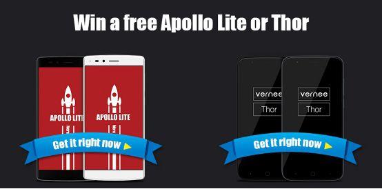 Vernee free smartphone