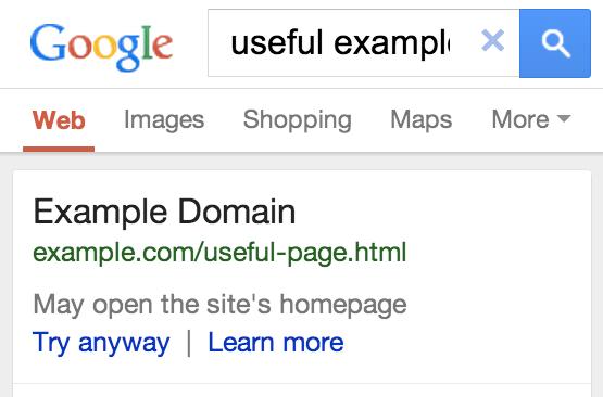 Google-url-redirection-incorrecte-mobile