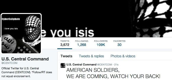 Twitter-CentCom-CyberCaliphate