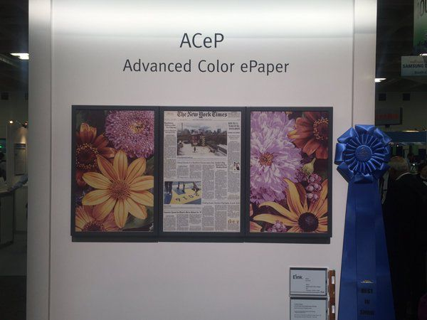 Eink ACeP couleur