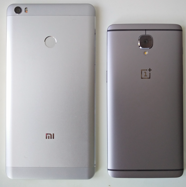 Xiaomi Mi Max OnePlus 3