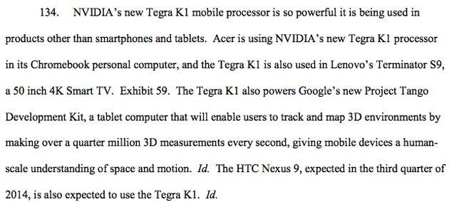 Nvidia HTC Nexus 9