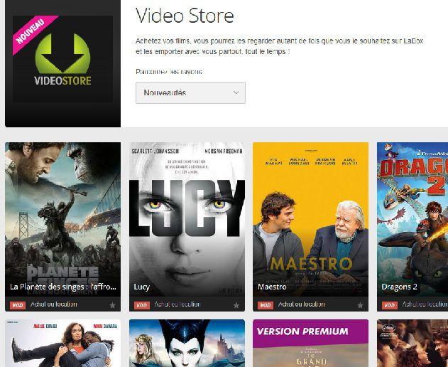 Numericable SFR Videostore