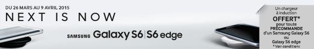 Samsung Galaxy S6 precommande