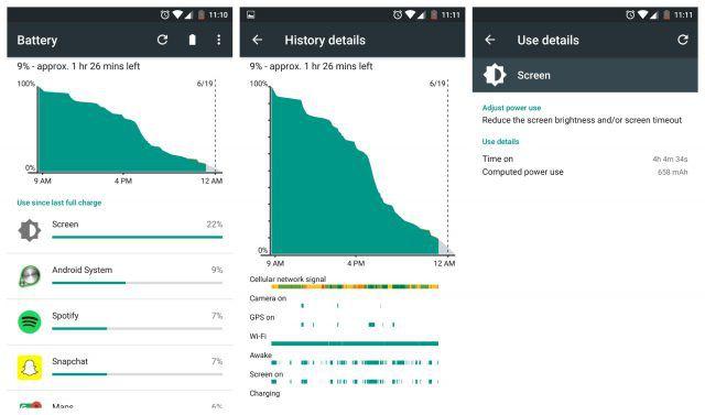 OnePlus 3 autonomie
