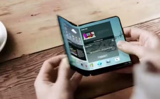 Ecran AMOLED pliable Samsung