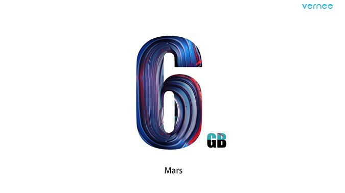 Vernee Mars 6 Go RAM