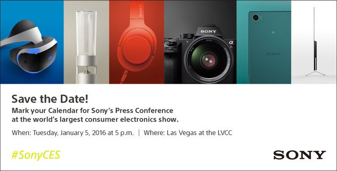 Sony Mobile CES 2016