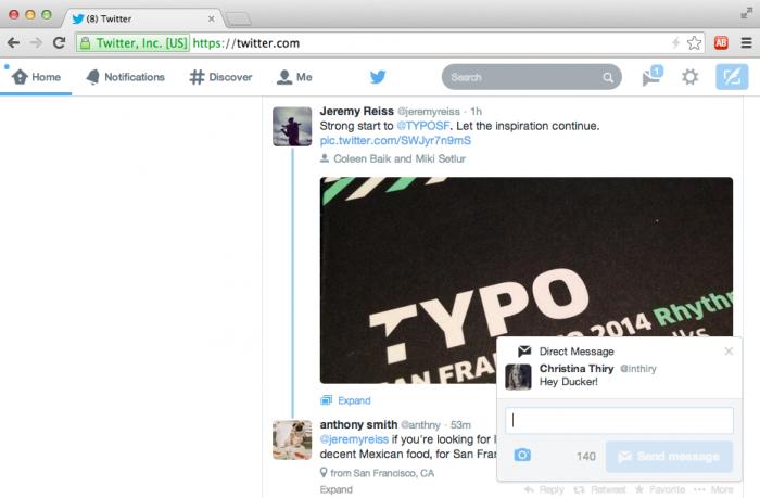 Twitter-notification-web