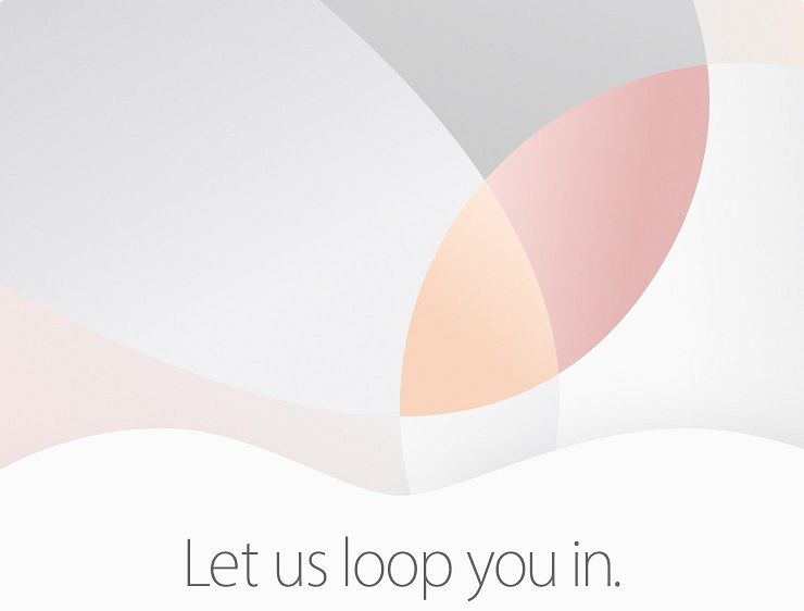 Apple invitation mars