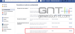 Cacher Facebook Google (2)