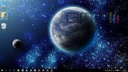 Windows 10 avec bouton Cortana