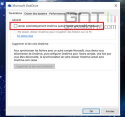 Désactiver OneDrive (3)
