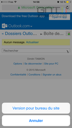 Site ordinateur iPhone (2)