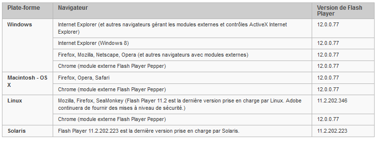 Flash-Player-version