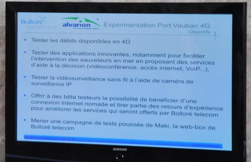 Bollore Telecom WiMAX tests