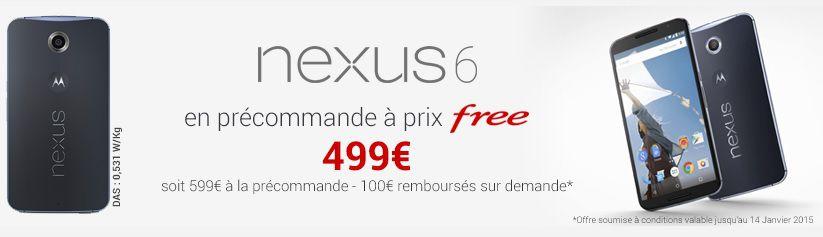 Nexus 6 Free Mobile