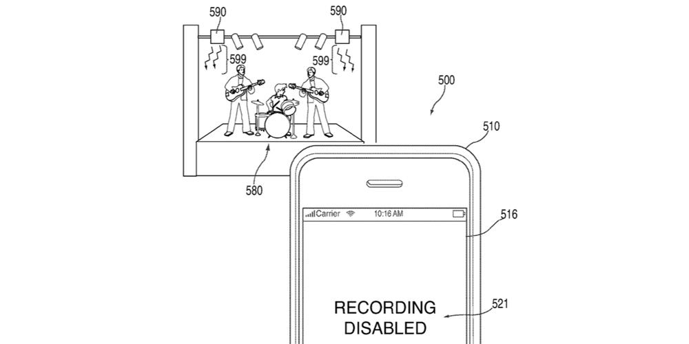 Apple blocage photo brevet
