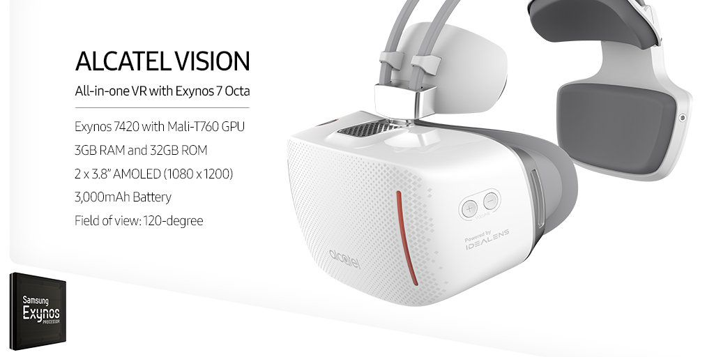 Alcatel Vision specs