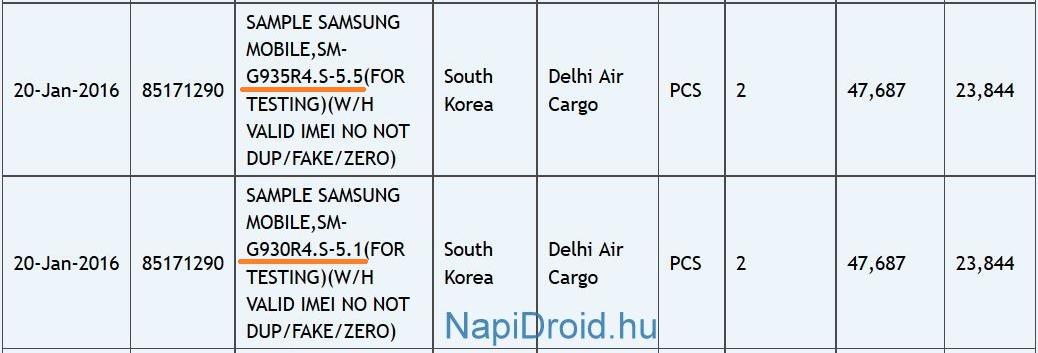 Samsung Galaxy S7 Edge Zauba