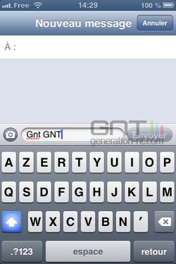 Majuscules SMS iPhone iOS (4)