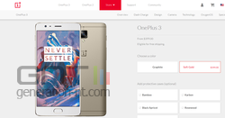 OnePlus 3 Soft Gold US
