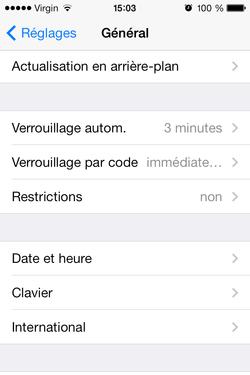 Optimiser iPhone 4 iOS 7 (4)