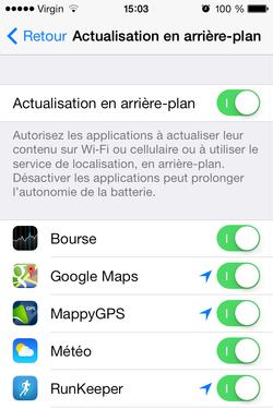 Optimiser iPhone 4 iOS 7 (5)